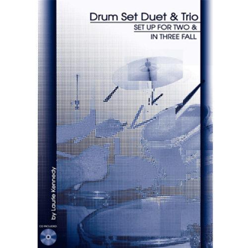 Drum Set Duet and Trio Book Cover