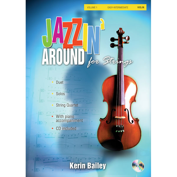 Jazzin' Around for Strings Book Cover