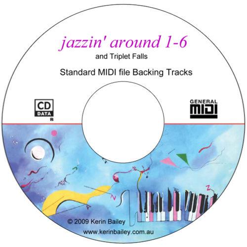 Jazzin' Around-1-6 SMF Midi Backing CD