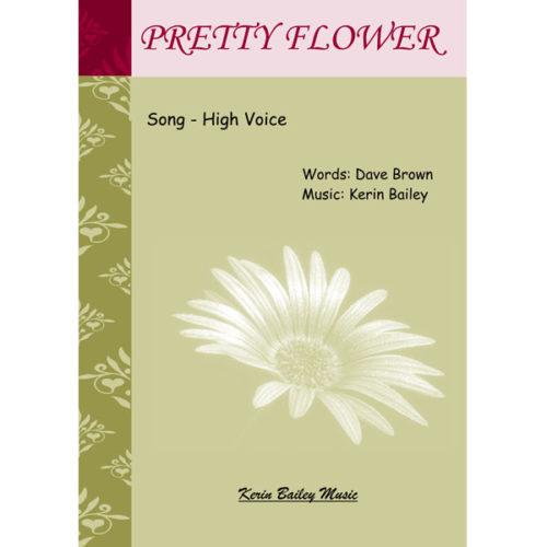 Pretty Flower Book Cover