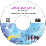Jazzin' Around-1-6 SMF Midi Backing CD